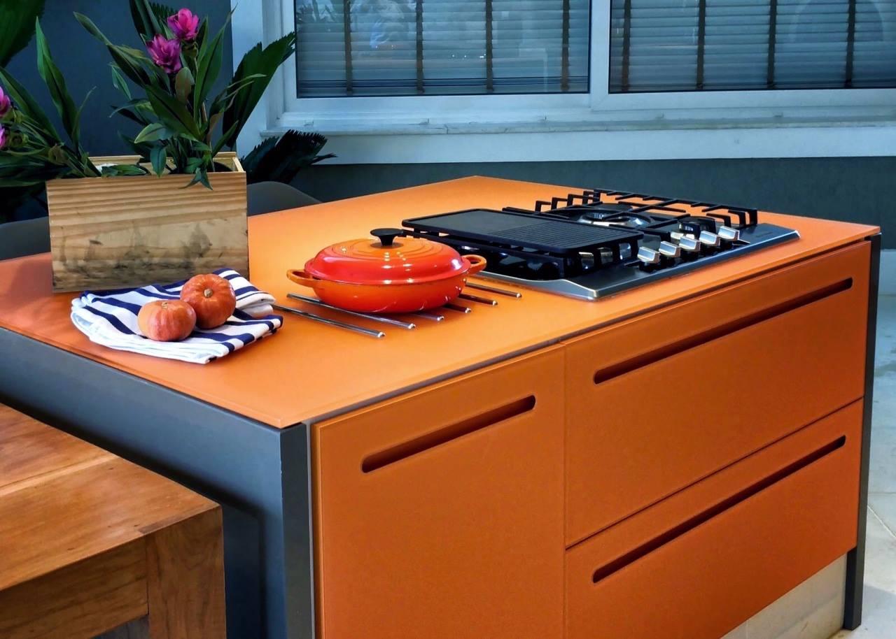 1-Área Gourmet - Residência na Barra da Tijuca - Arquiteta Claudia Santos