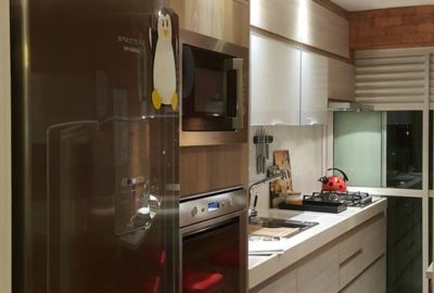 1- Cozinha - Apartamento na Barra da Tijuca - Arquiteto Lucio Nocito
