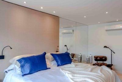 10-Residência - Blue Houses - Por BETA Arquitetura (Arquitetos Bernardo Gaudie-Ley e Tania Braida)