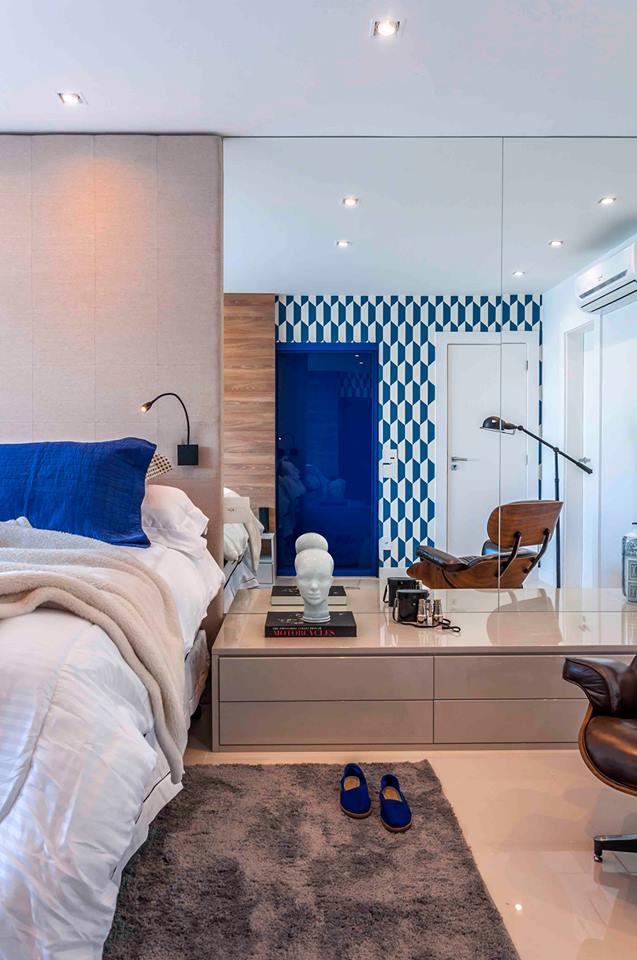 11-Residência - Blue Houses - Por BETA Arquitetura (Arquitetos Bernardo Gaudie-Ley e Tania Braida)