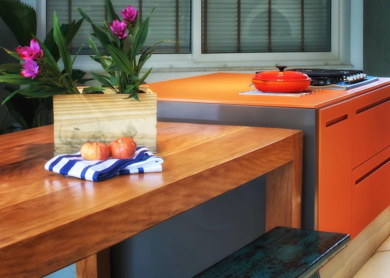 3-Área Gourmet - Residência na Barra da Tijuca - Arquiteta Claudia Santos