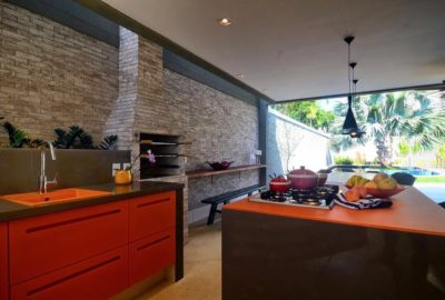 6-Área Gourmet - Residência na Barra da Tijuca - Arquiteta Claudia Santos