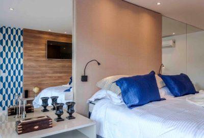 9-Residência - Blue Houses - Por BETA Arquitetura (Arquitetos Bernardo Gaudie-Ley e Tania Braida)