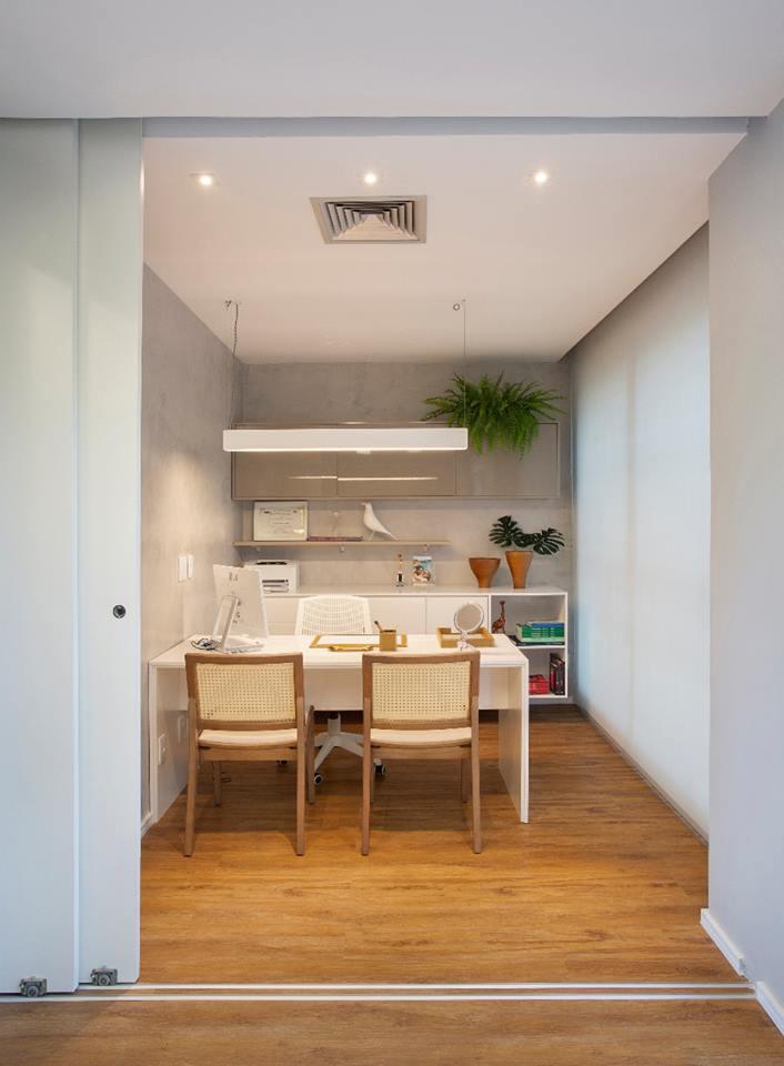 Consultório da Dermatologista | Por Studio Eloy & Freitas Arquitetura