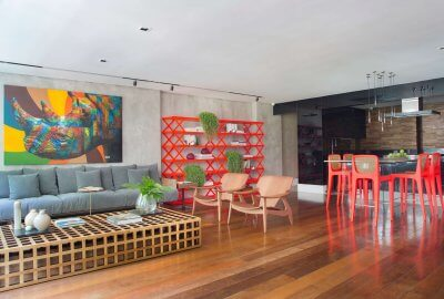 Residência por Studio MH Arquitetura e Interiores